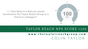 Taylor Reach NPS Score +100