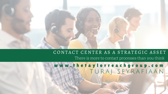 Contact Center as a Strategic Asset