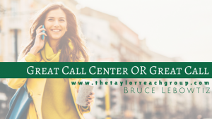 Great Call Center OR Great Call