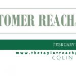 Customer Reah - February Newsletter