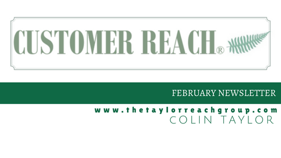 Customer Reah - February Newsletter