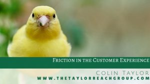 Friction in the Customer Experience Colin Taylor