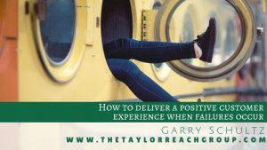 When failures occur Garry Schultz