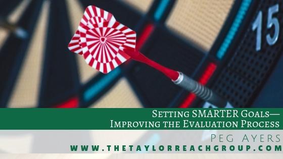 Setting SMARTER Goals Peg Ayers
