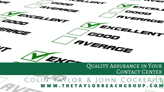 Quality Assurance in Your Contact Center