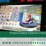 Video Games versus Customer Service JD Fairweather