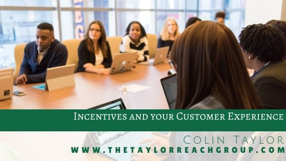 Incentives and your Customer Experience